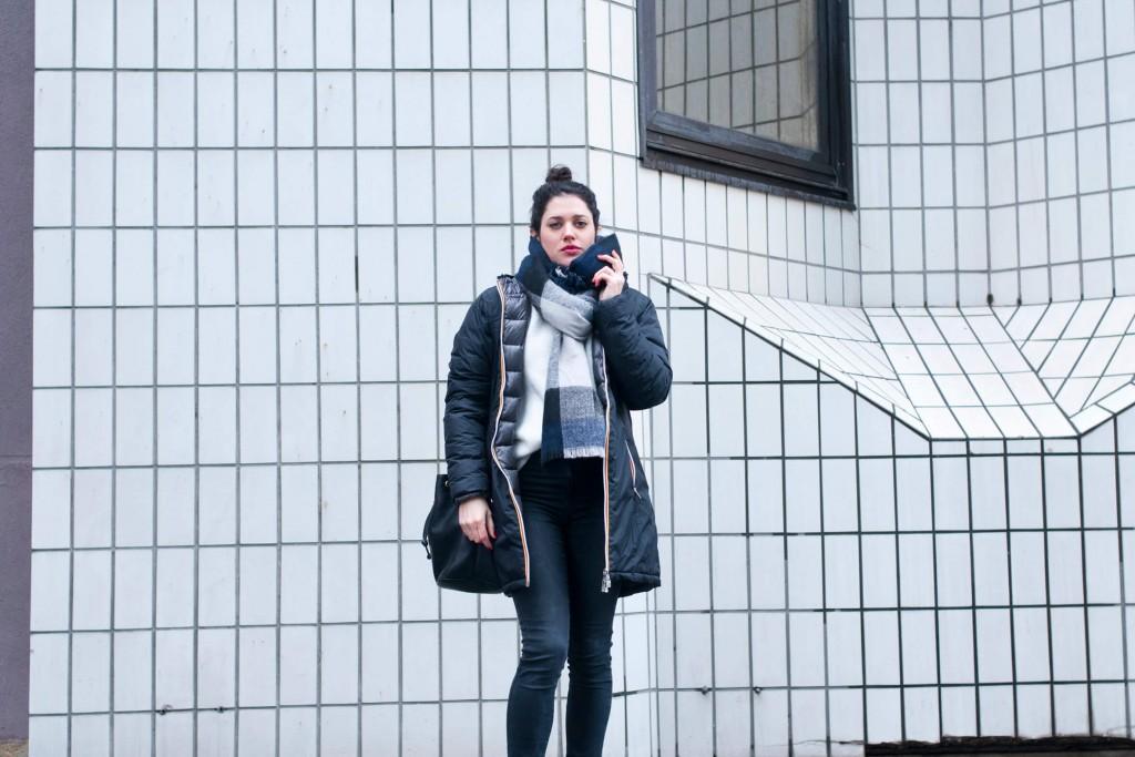 Look Kway doudoune L'atelier d'al blog mode lifestyle Paris