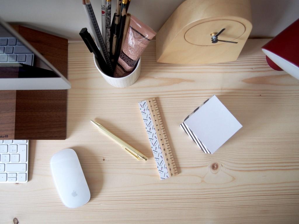 Décoration bureau appartement parisien L'atelier d'al blog lifestyle mode Paris