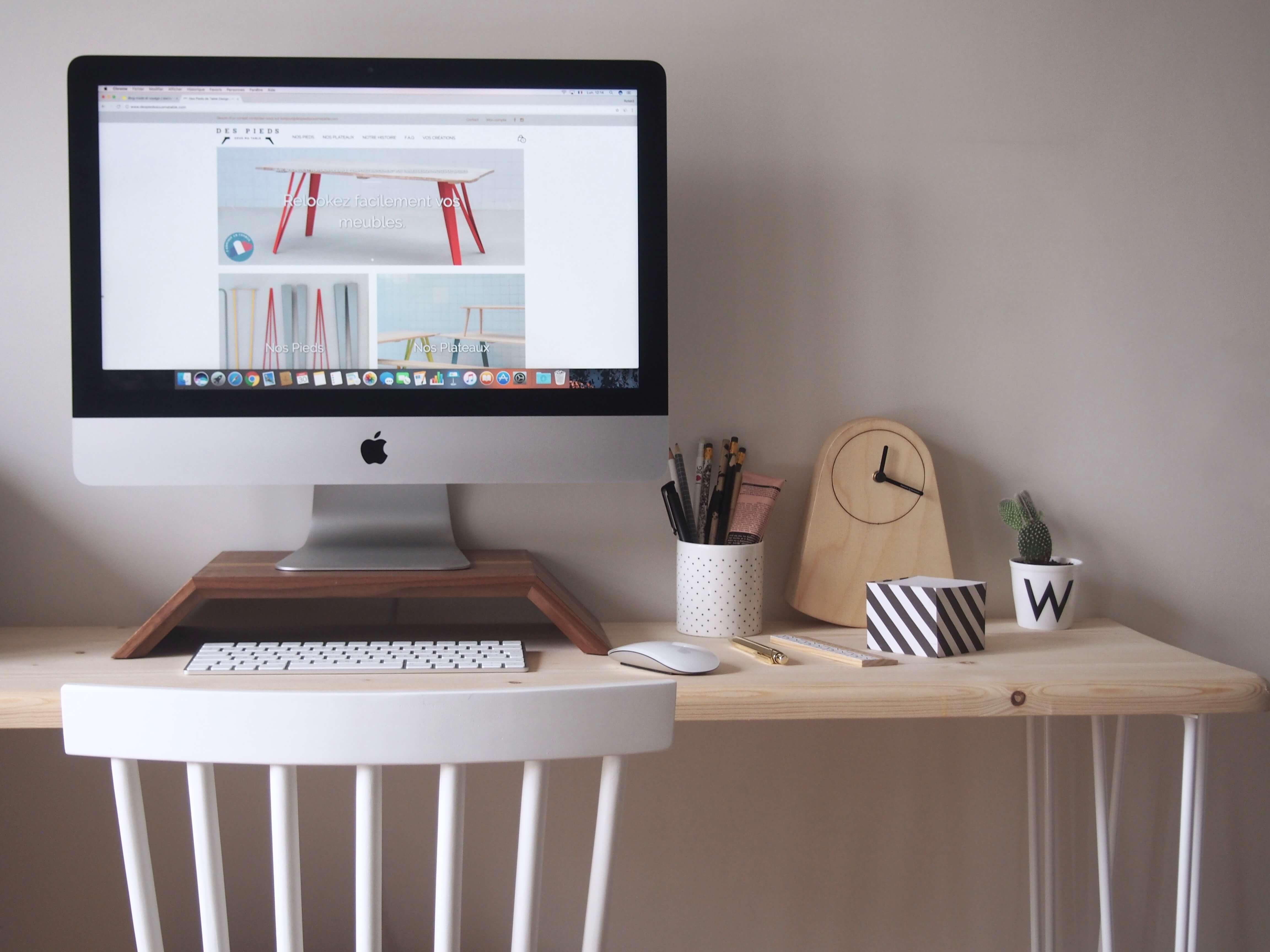 Décoration bureau appartement parisien latelier dal blog lifestyle