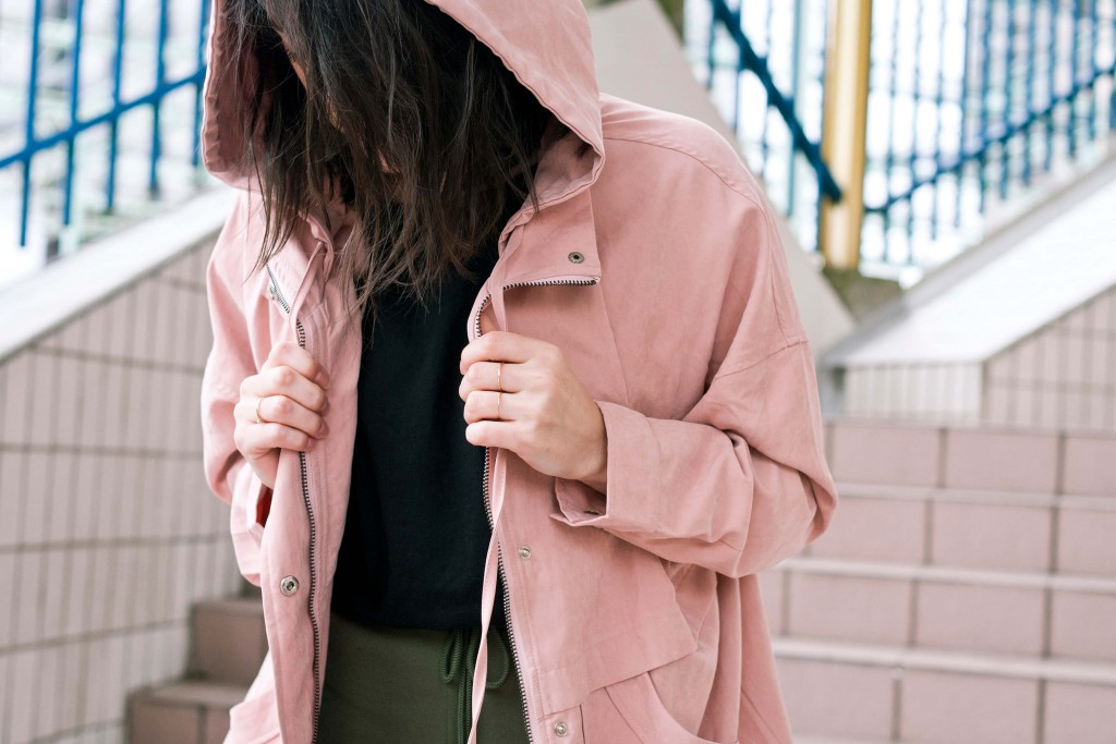 look tee-shirt Yayou parka rose L'atelier d'al blog mode lifestyle Paris