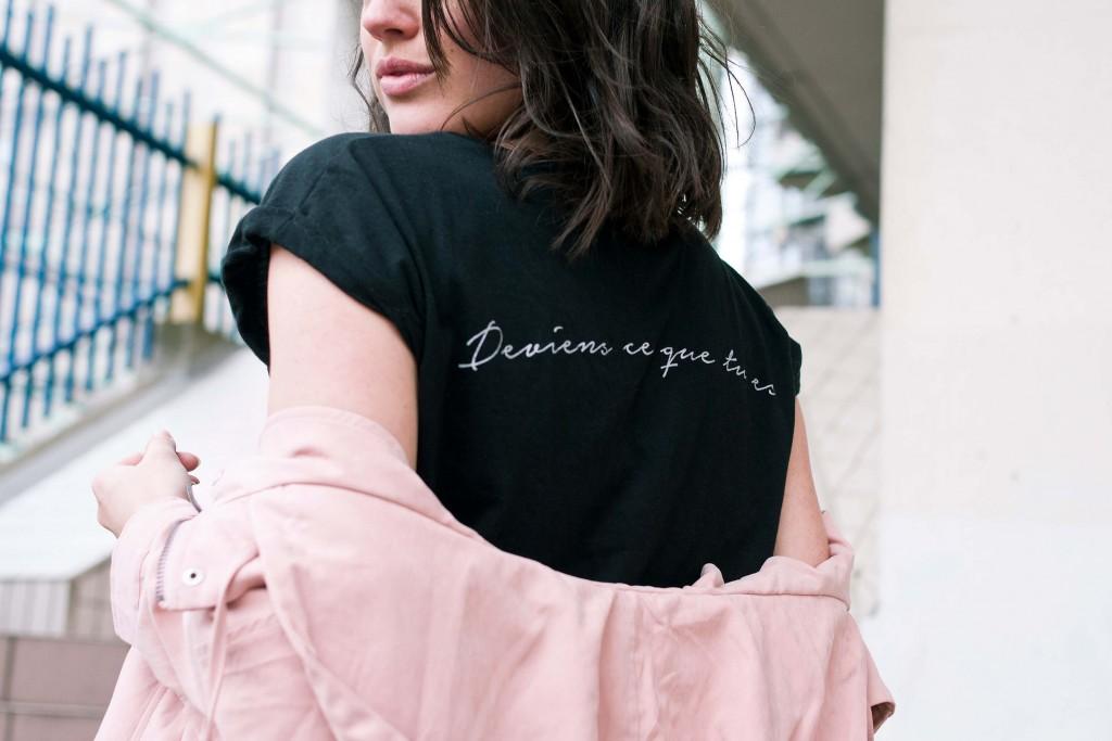 look tee-shirt Yayou parka rose L'atelier d'al blog mode lifestyle Paris