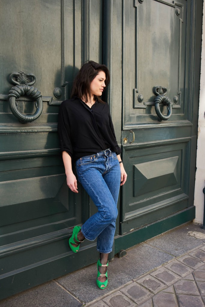 Look Bettina Vermillon L'atelier d'al blog mode lifestyle Paris