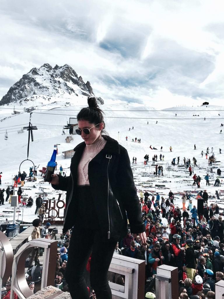 Val d'Isère La Folie Douce L'atelier d'al blog lifetsyle mode