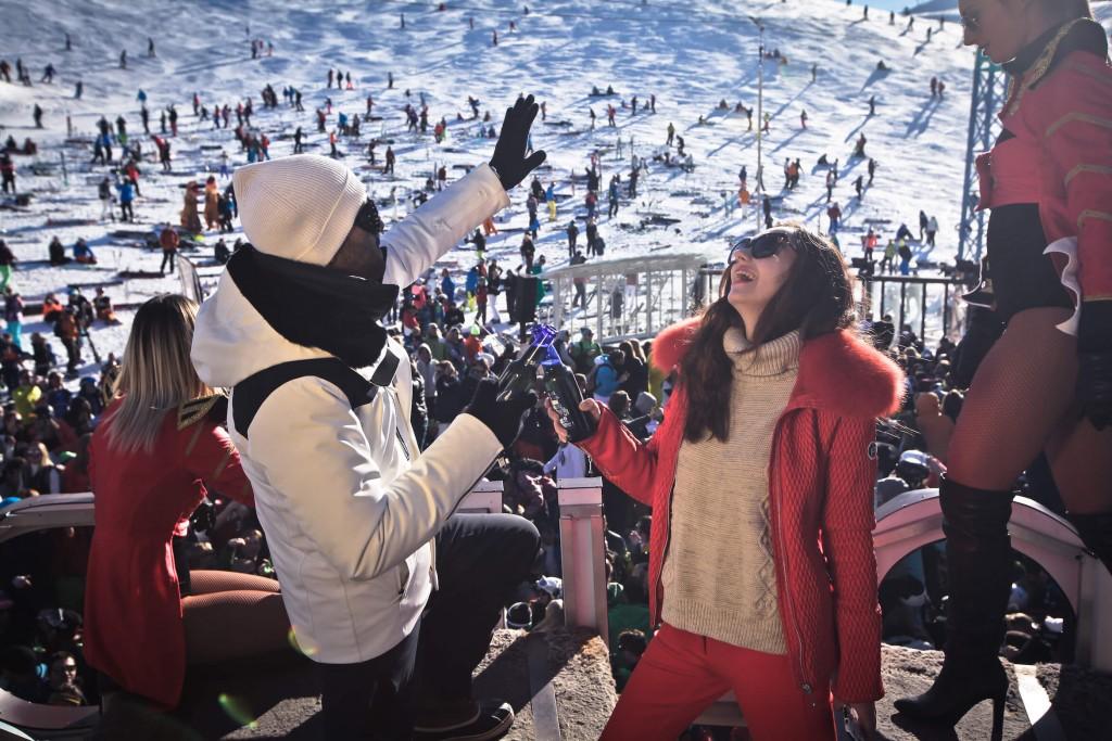 Val d'Isère La Folie Douce L'atelier d'al blog lifestyle mode