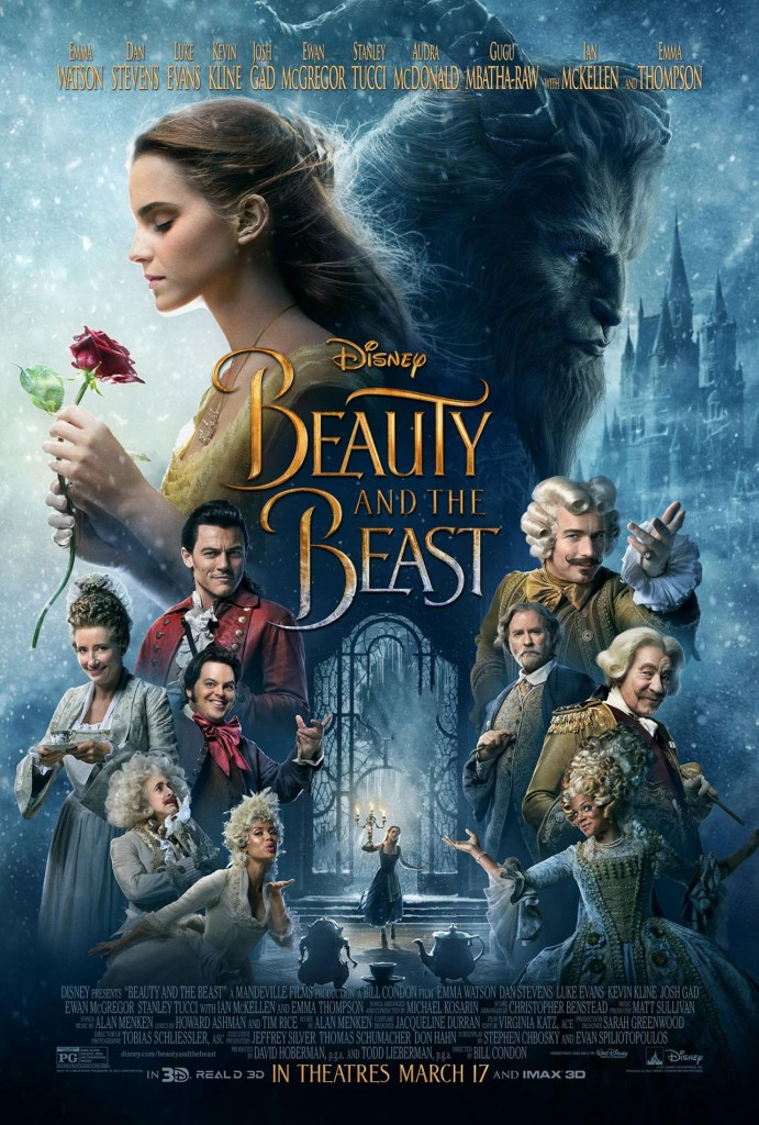 La belle et la bête-film 2017 review