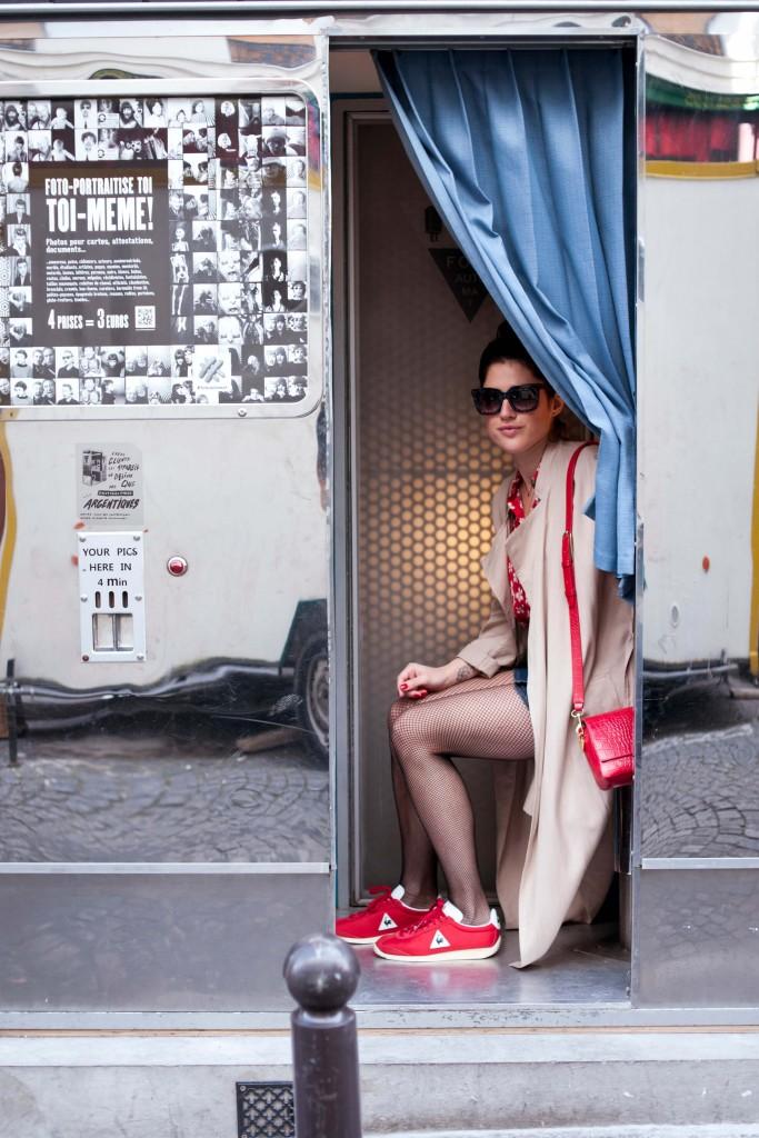 Look vintage L'atelier d'al blog mode lifestyle Paris