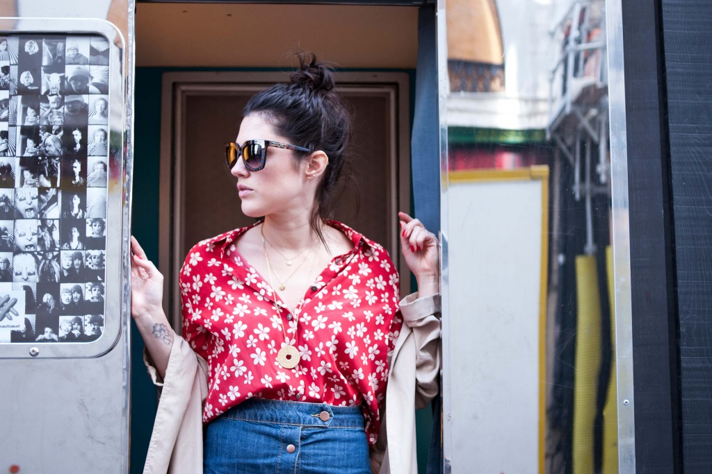 Look vintage L'atelier d'al blog mode lifestyle Paris
