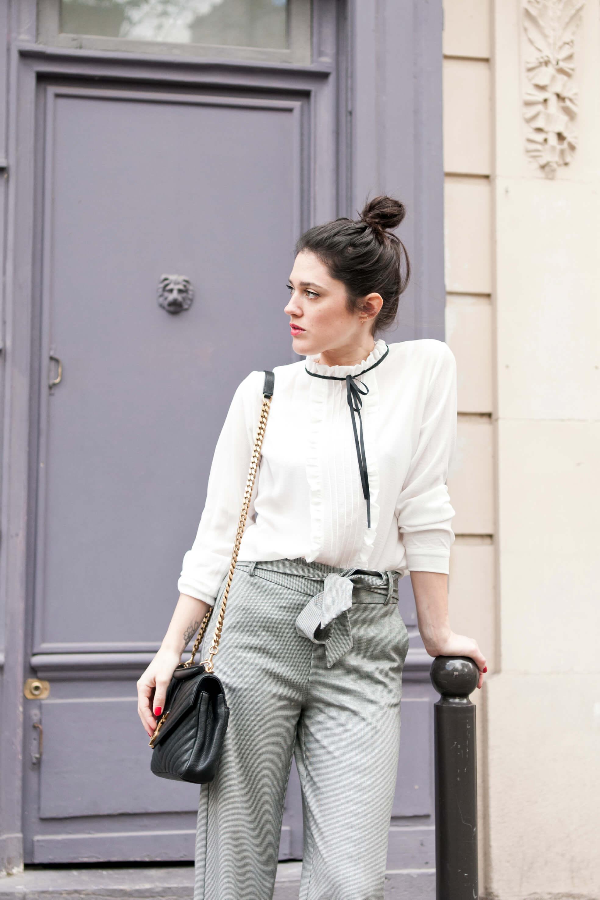 look working girl l'atelier d'al blog mode lifestyle Paris