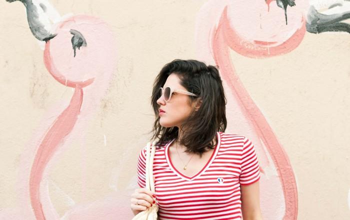 Look Smallable marinière rouge jupe longue Des Petits Hauts L'atelier d'al blog mode lifestyle Paris