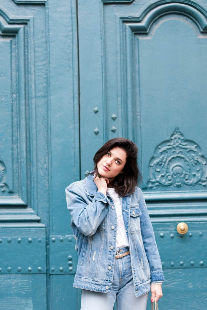 look blue jean L'atelier d'al blog mode lifetsyle Paris