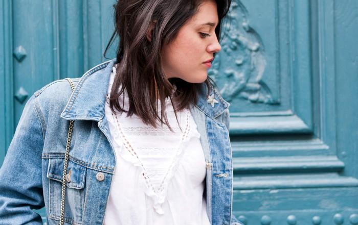 look blue jean L'atelier d'al blog mode lifetsyle Paris