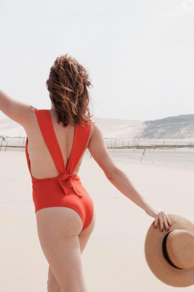 maillot de bain une pièce look Bassin d'Arcachon L'atelier d'al blog mode lifestyle
