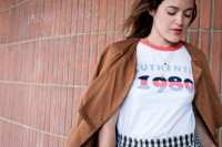 look vintage t-shirt 1980 L'atelier d'al blog mode lifestyle Paris