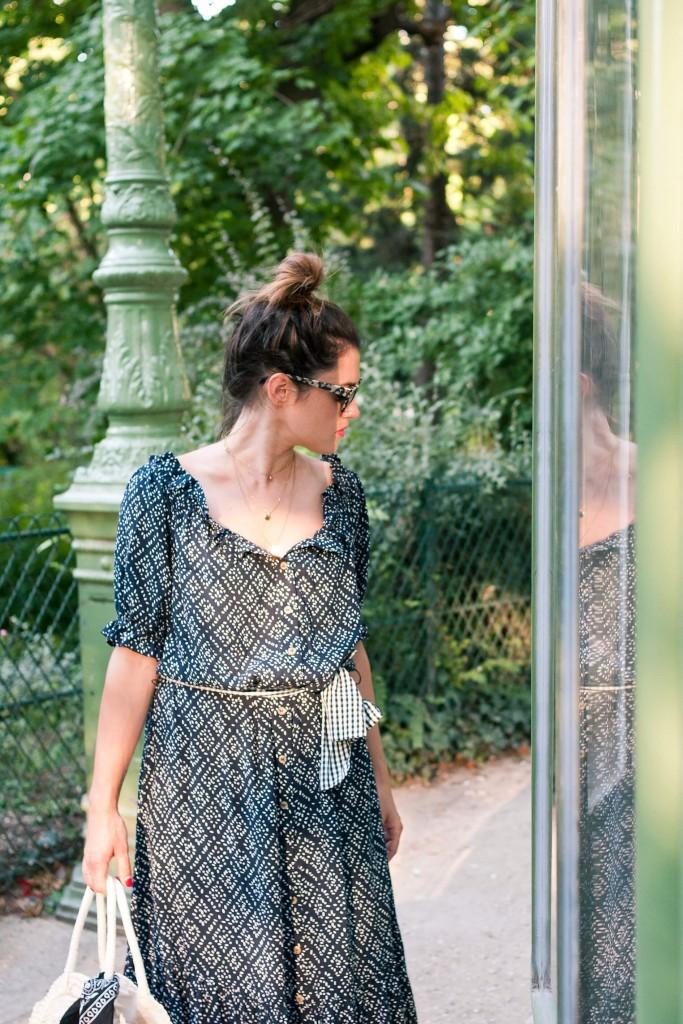 look robe longue été L'atelier d'al blog mode lifestyle Paris