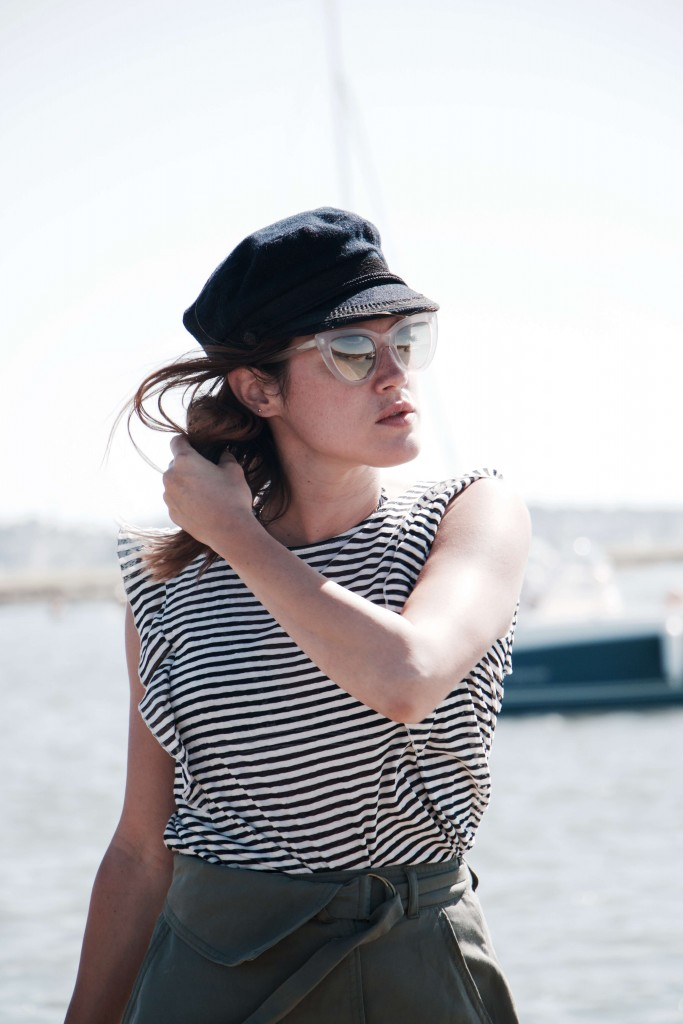 look marinière capitaine gavroche bassin Arcachon Cap Ferret L'atelierd 'al blog mode lifestyle