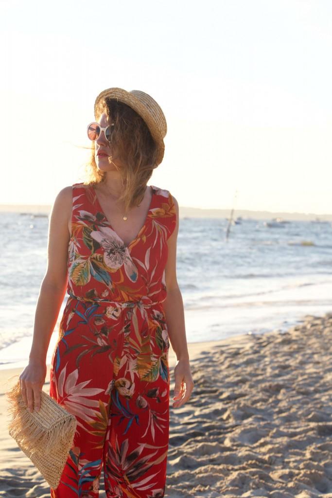 combinaison fleurie Boohoo L'atelier d'al blog mode lifestyle Paris