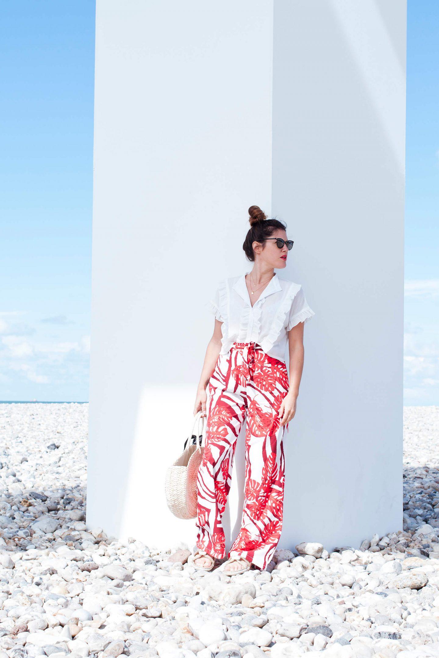look tropical Boohoo et panier La Redoute L'atelier d'al Blog mode lifestyle DIY Paris