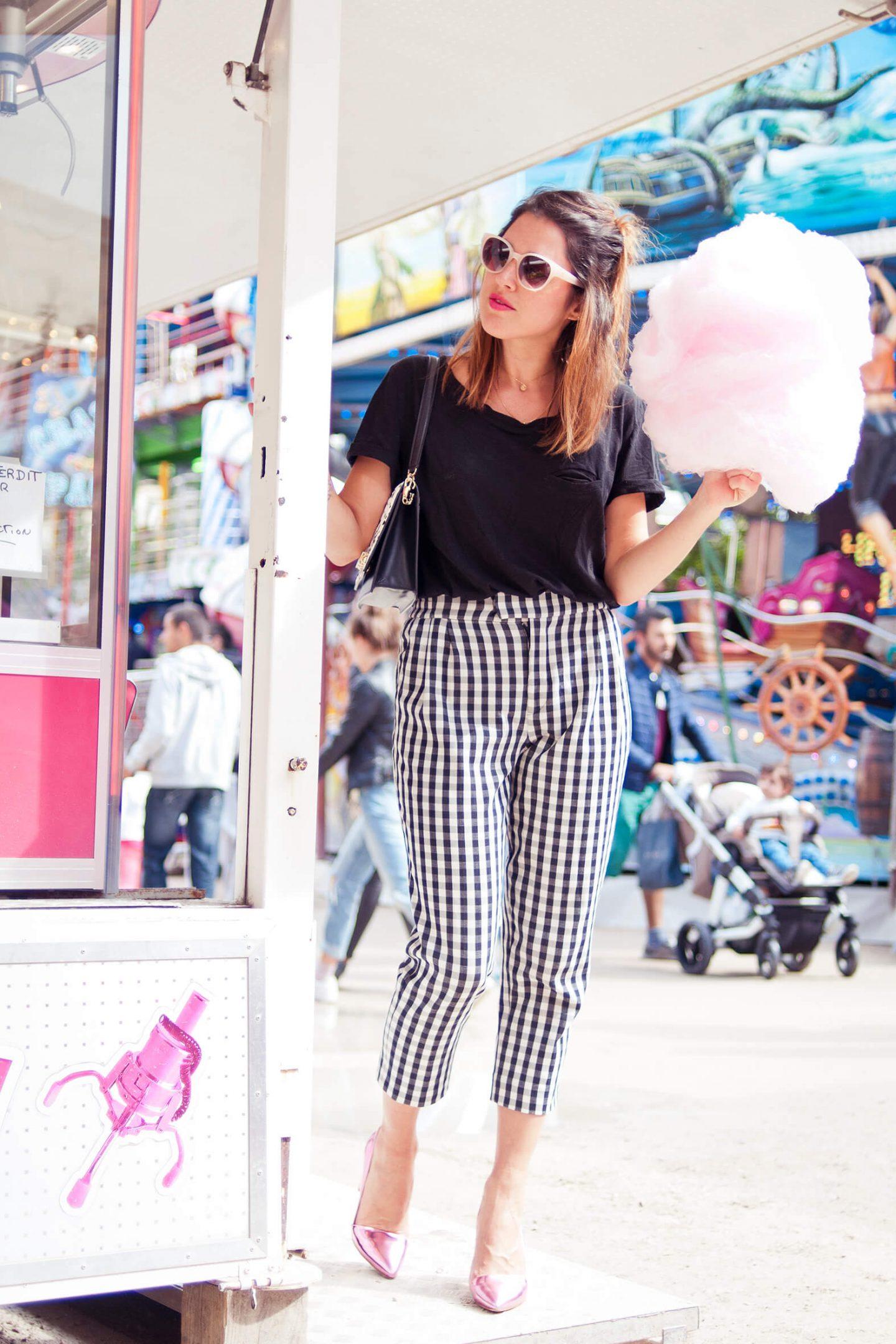 Look jardin des tuileries fête foraine vichy L'atelier d'al blog mode lifestyle Paris