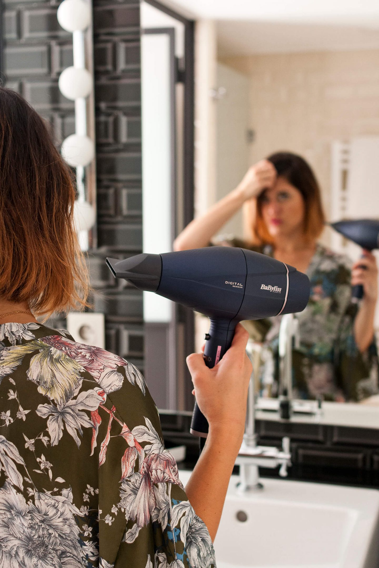 Test Digital Sensor Sèche cheveux Babyliss L'atelier d'al blog mode lifestyle DIY Paris