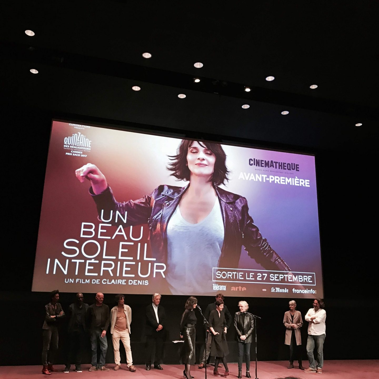 Film Un beau soleil intérieur Claire Denis et Juliette Binoche L'atelie d'al blog mode lifestyle Paris