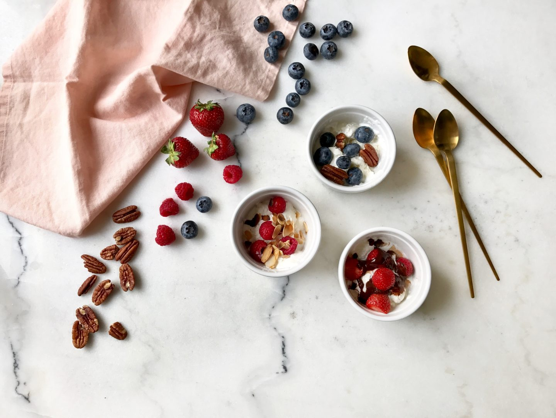La glace au yaourt maison *frozen yogurt* sans sorbetière recette hyper facile L'atelier d'al blog mode lifestyle DIY