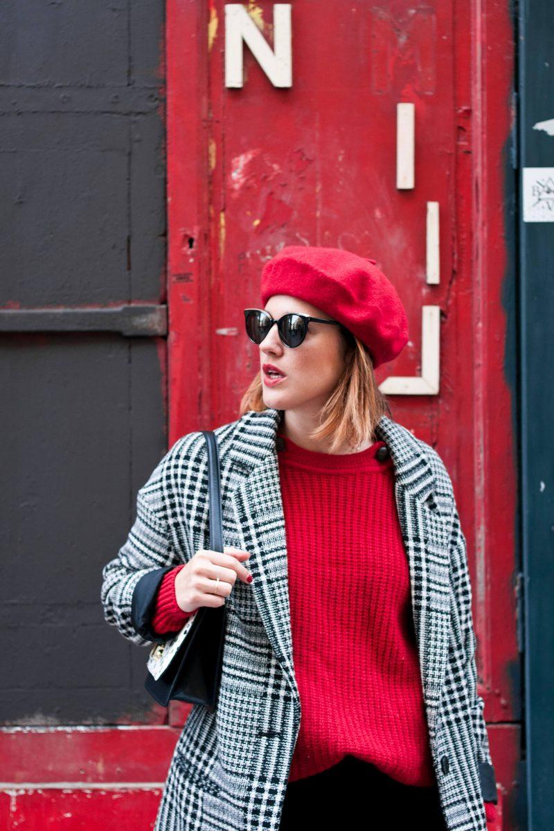 Look cuissardes béret L'atelier d'al blog mode lifestyle Paris