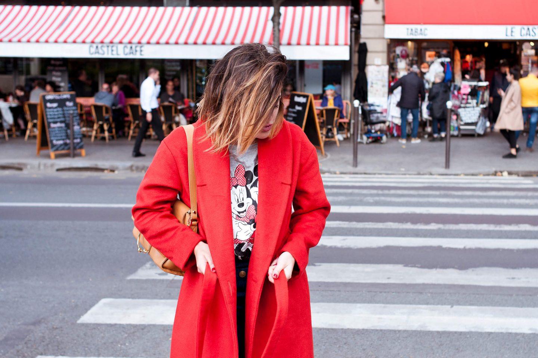 Disney t-shirt mickey minnie Primark L'atelier blog mode lifestyle DIY Paris