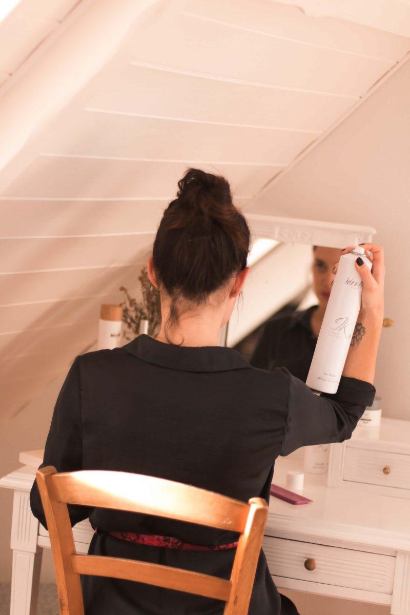 3 coiffures de soirée pour le réveillon avec Identik Paris L'atelier d'al blog mode beauté lifestyle