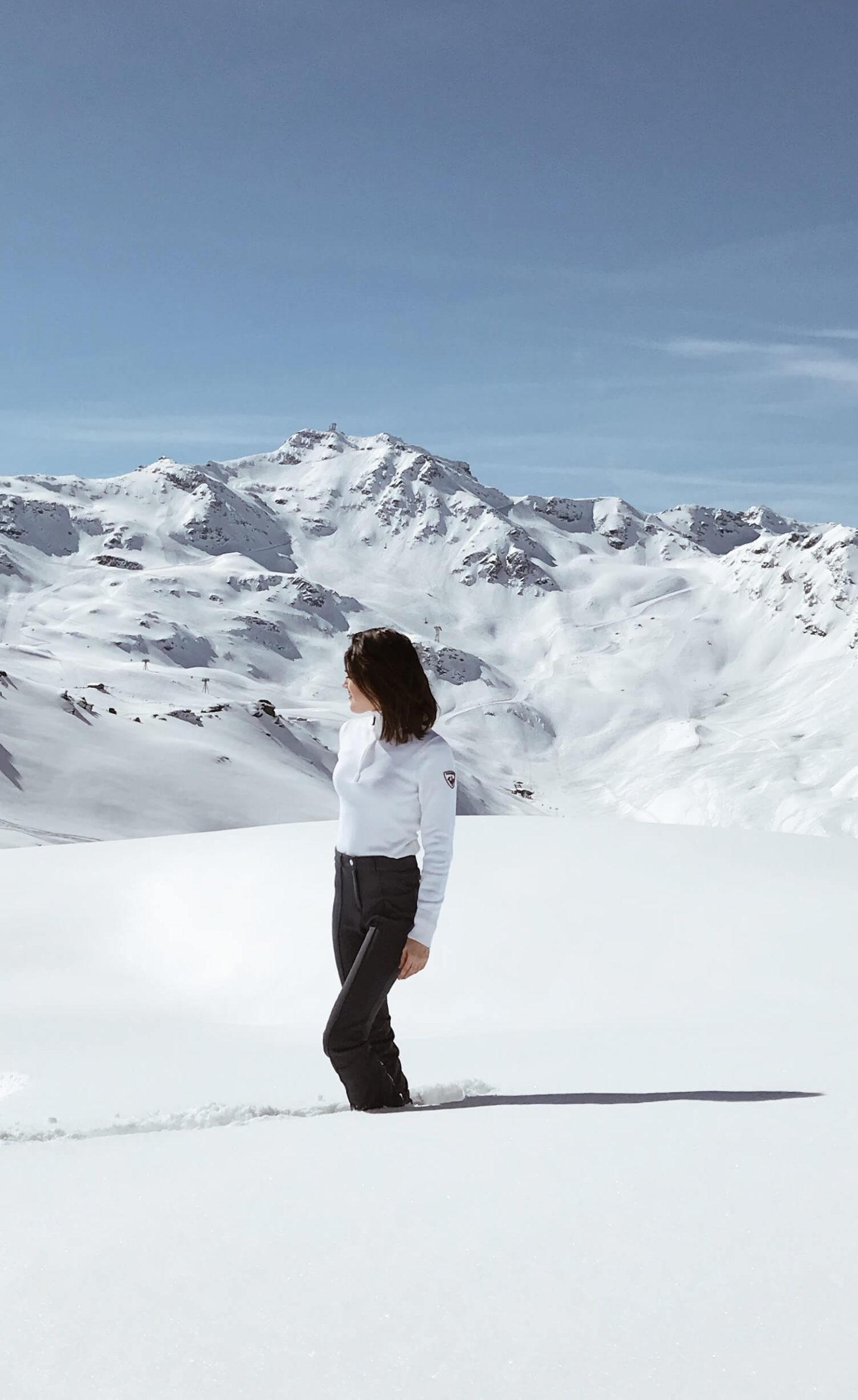 Comment être looké au ski look de montagne L'atelier d'al blog mode lifestyle paris