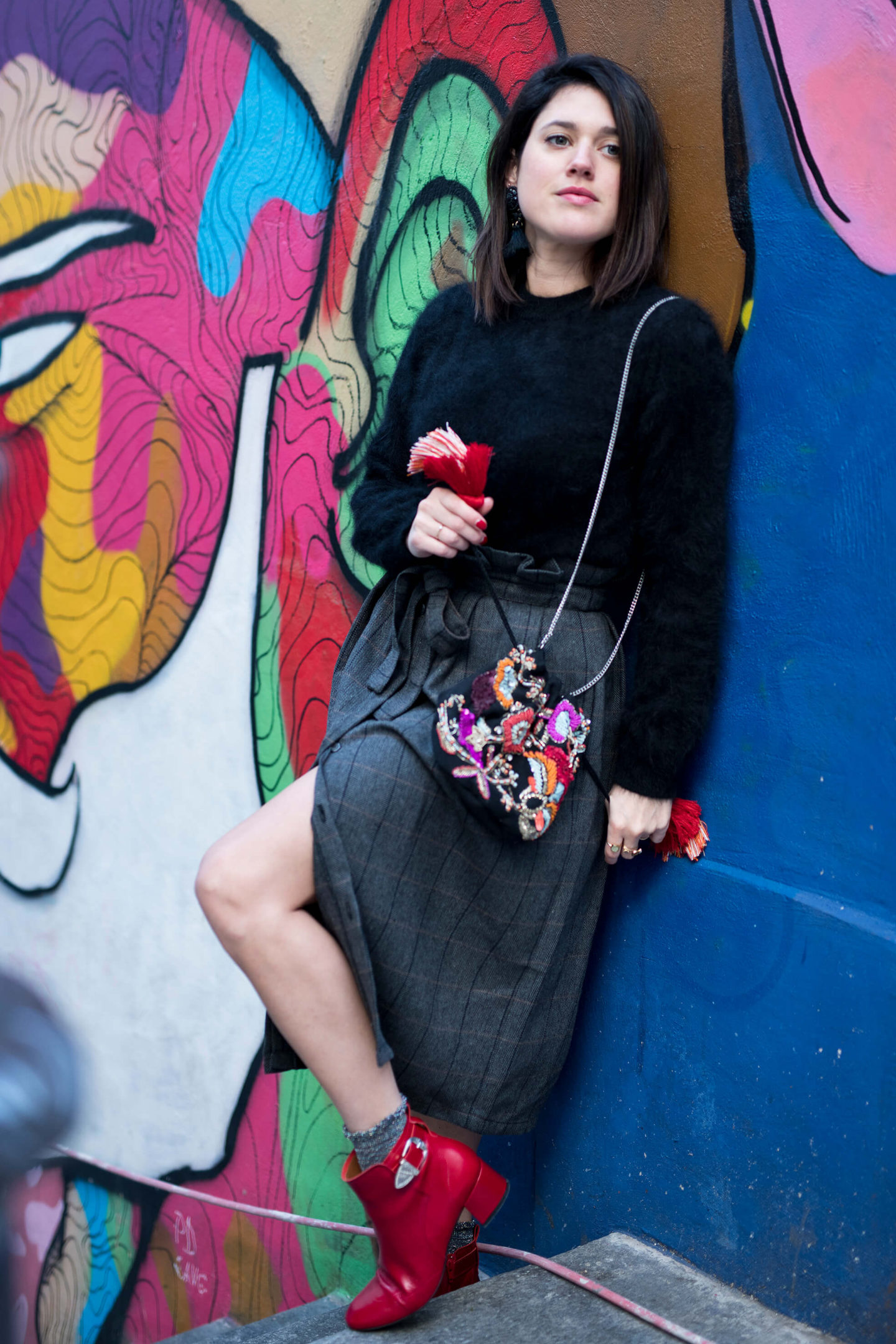 look street art street style Paris L'atelier d'al blog mode fashion France