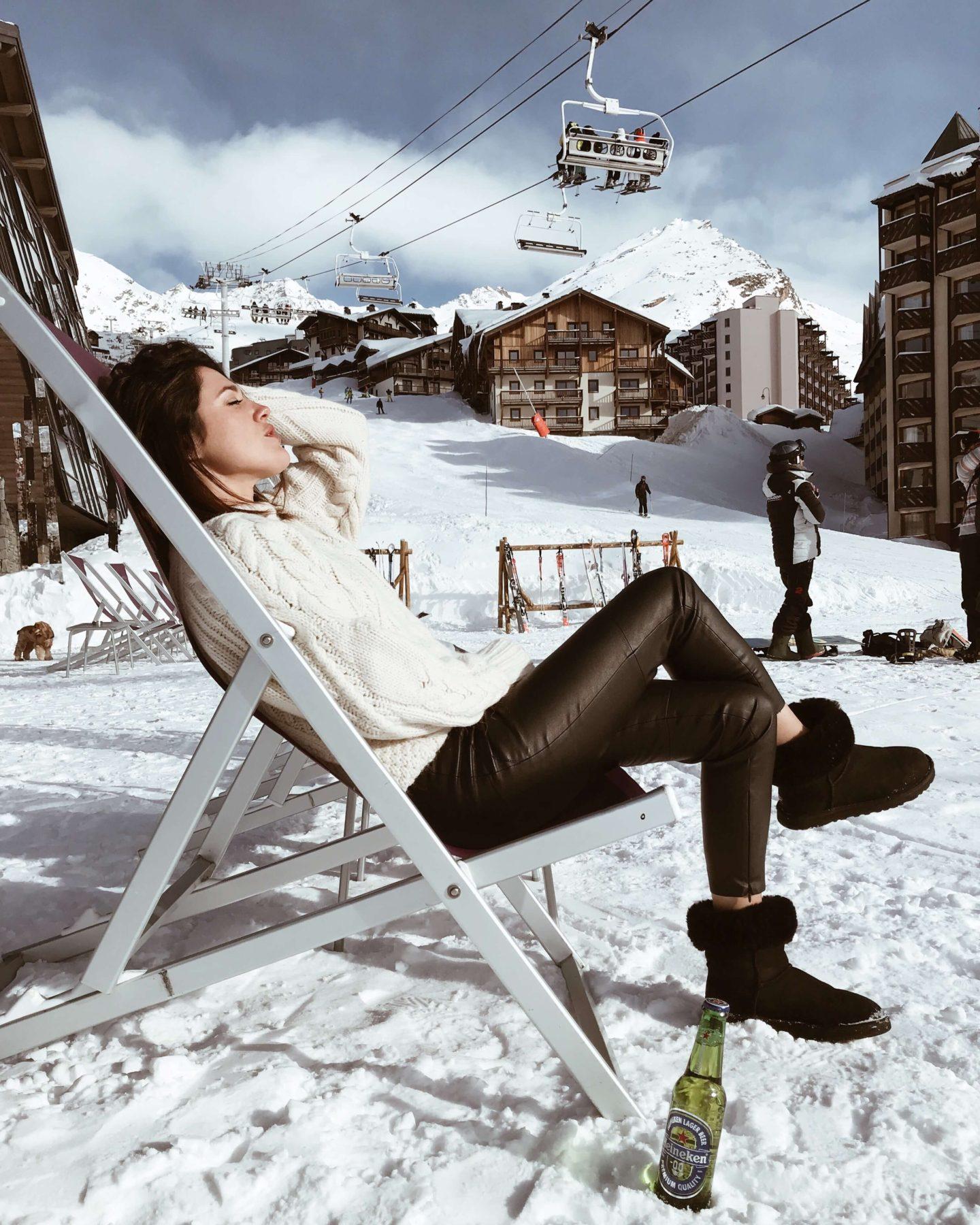 lookée et style au ski L'atelier d'al blog mode lifestyle Paris