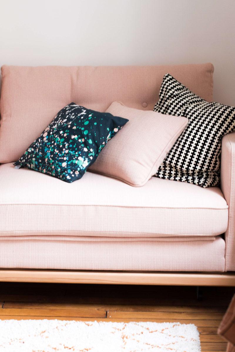 Mon appartement Paris bureau chambre d'amis L'atelier d'al blog mode lifestyle décoration DIY