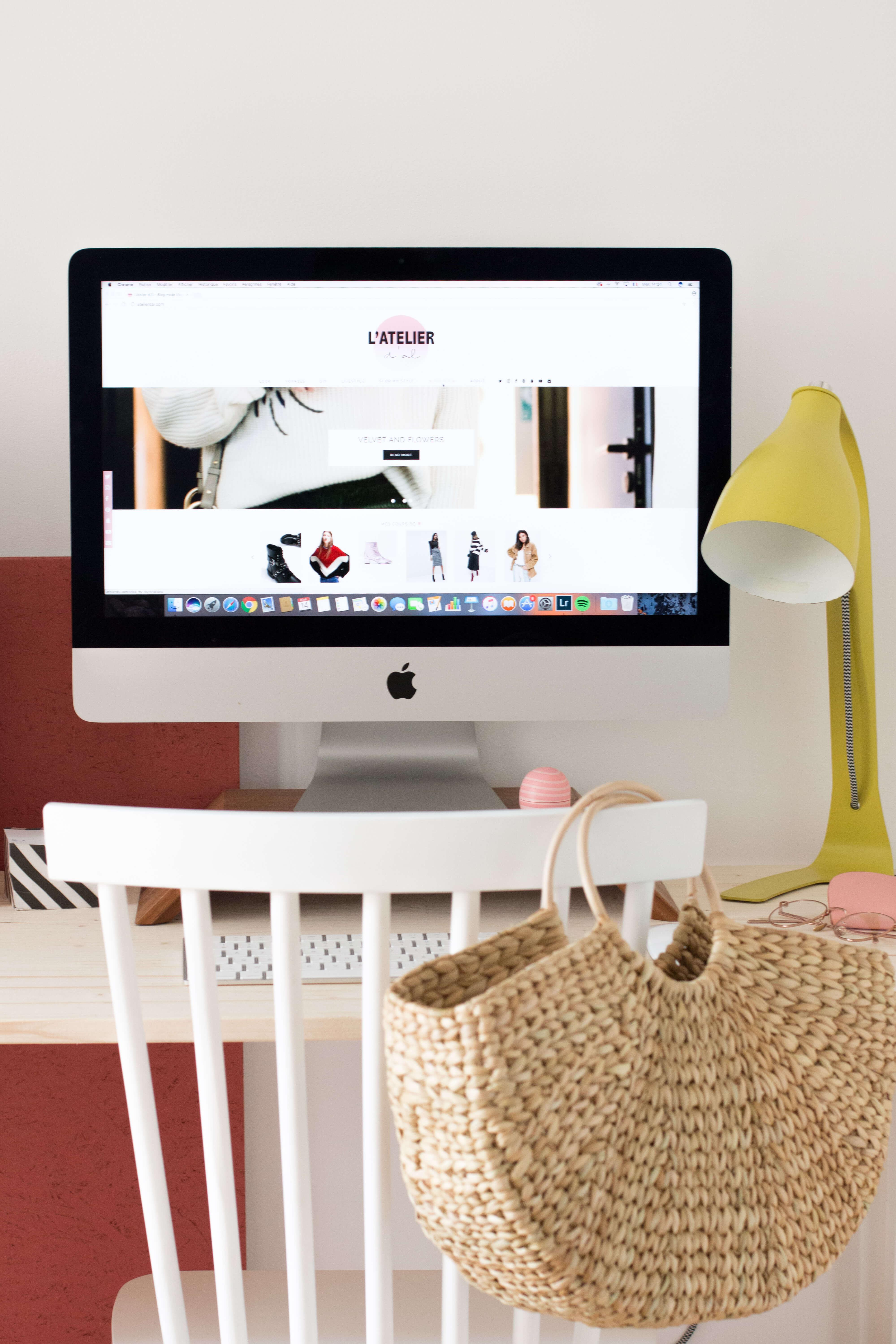 Mon appartement Paris bureau chambre d\'amis L\'atelier d\'al blog mode ...