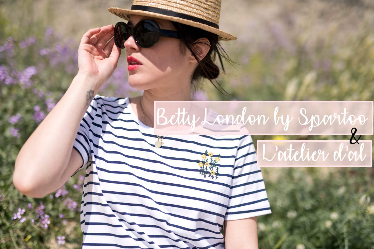 Betty London Spartoo X L'atelier d'al collaboration mode Blog lifestyle Fashion Paris