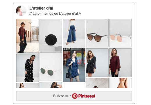 Inspiration Printemps Pinterest L'atelier d'al Blog mode lifestyle