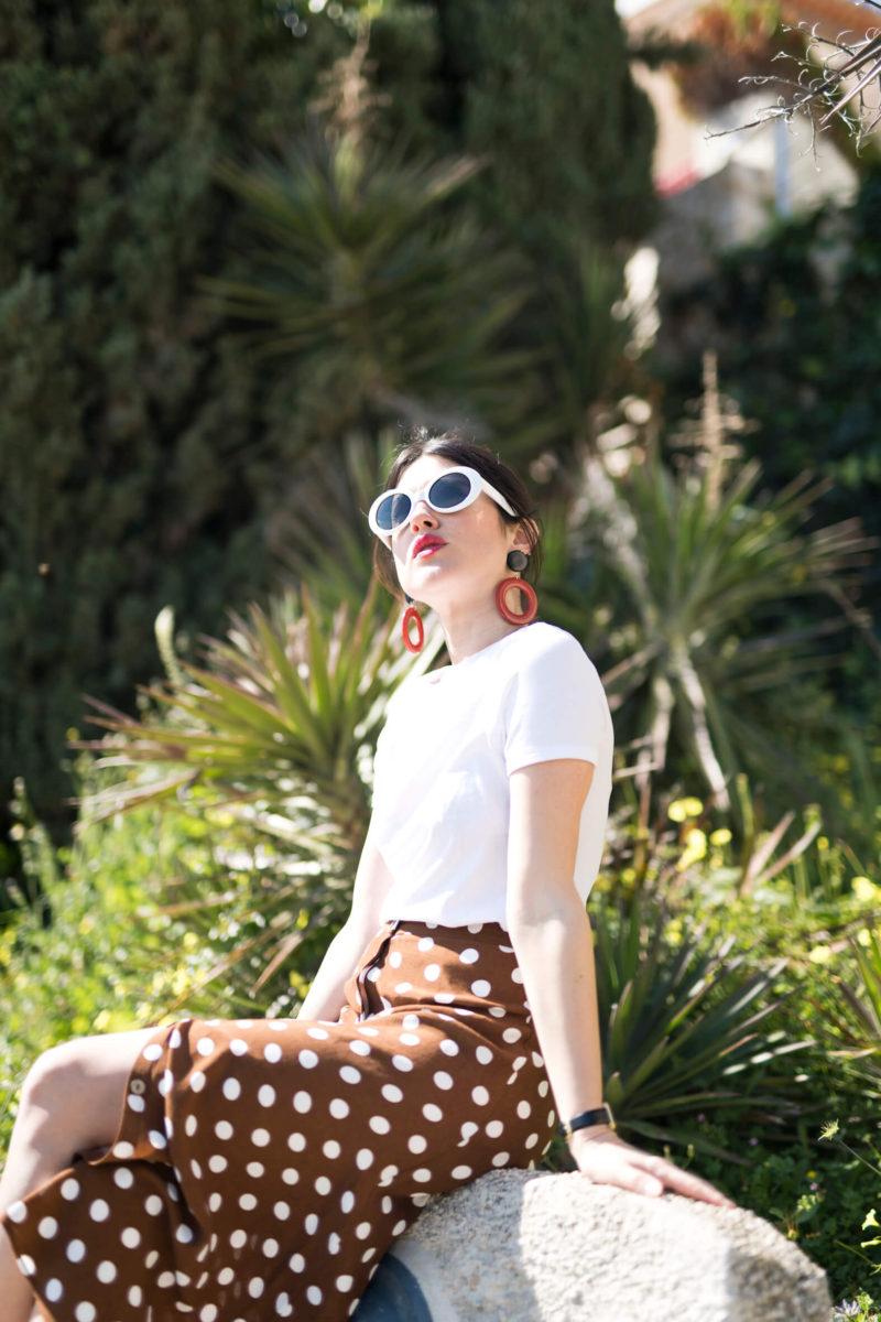 la jupe midi inspiration comment porter une jupe midi look de printemps l'atelier d'al blog mode lifestyle Paris fashion