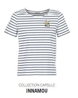 Betty London Spartoo X L'atelier d'al collection capsule collaboration t-shirt marinière