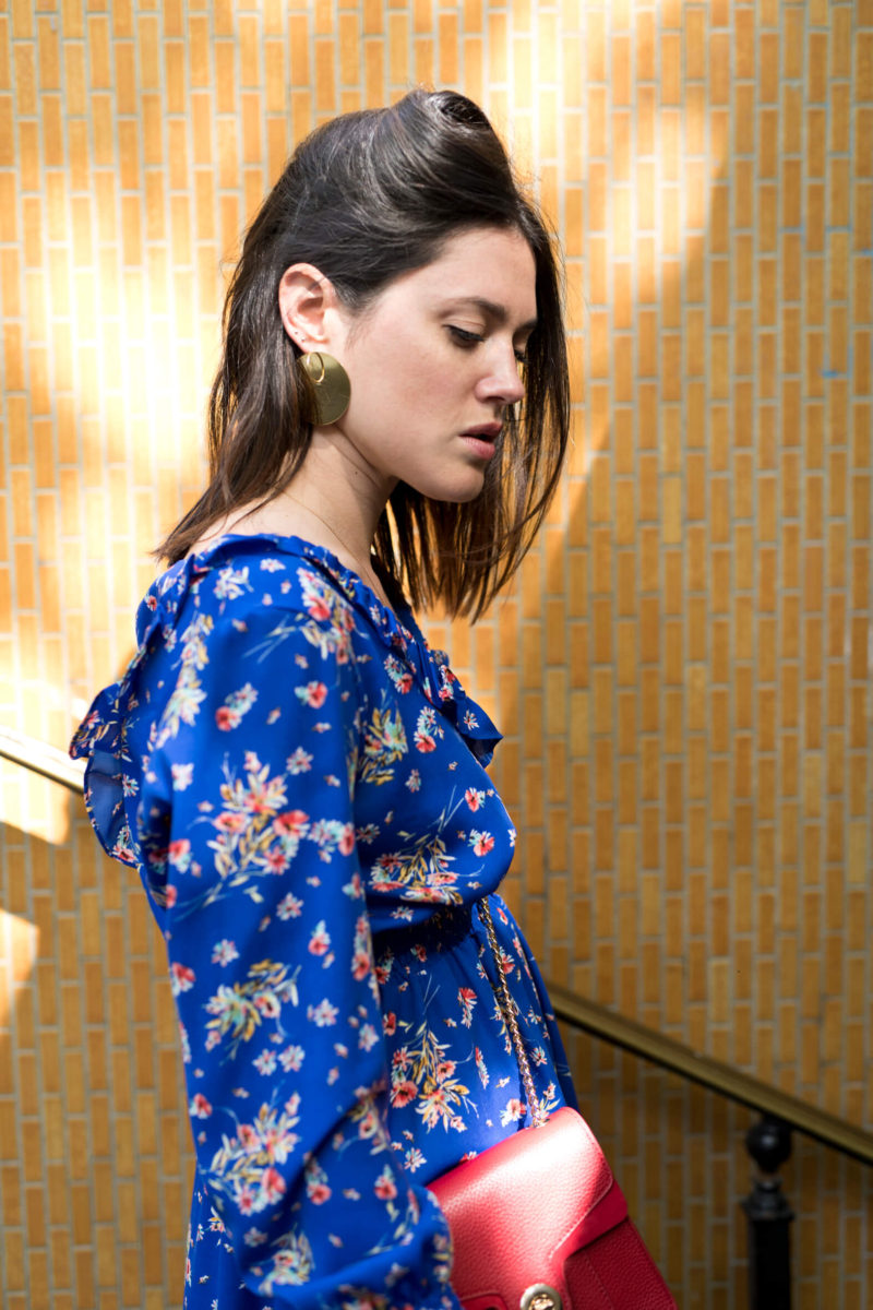 La robe à fleurs sélection l'atelier d'al blog mode fashion lifestyle Paris