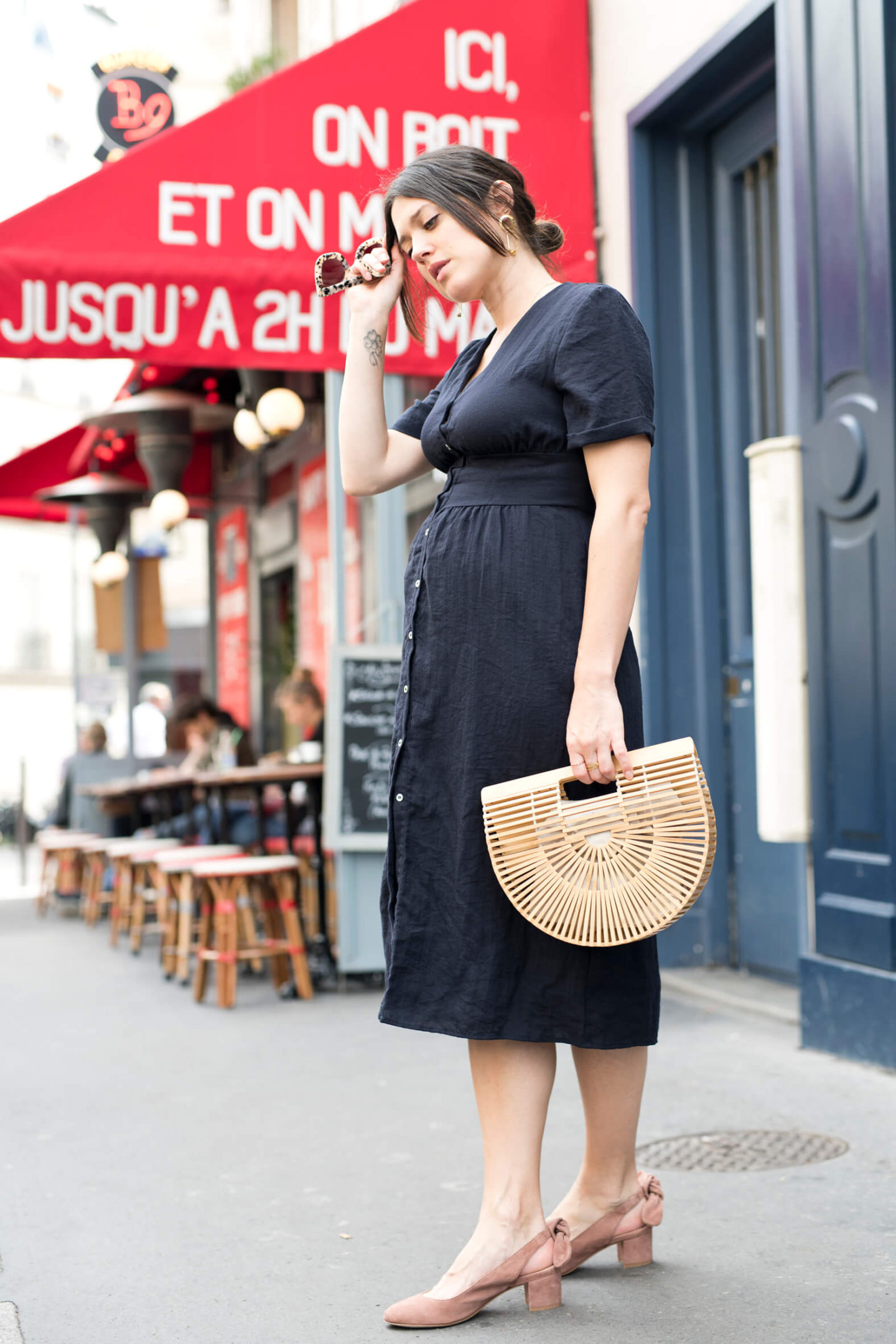 Robe Balzac Street style Paris L'atelier d'al blog mode fashion lifestyle