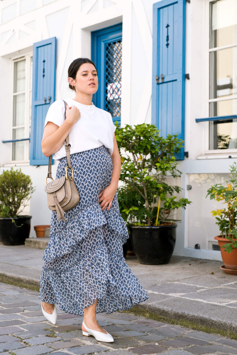 Look de grossesse L'atelier d'al blog mode lifestyle Paris streetstyle