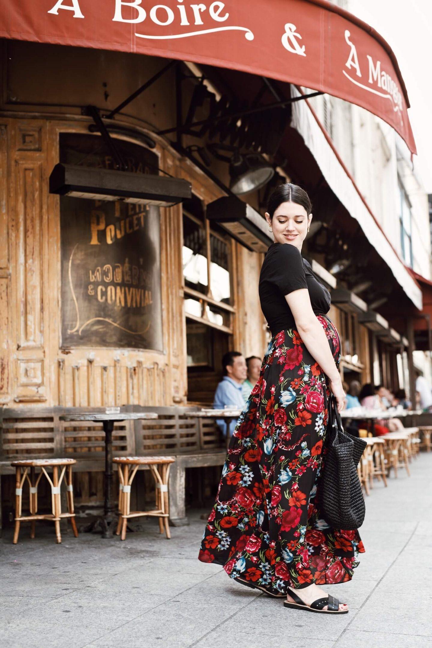 Looks de grossesse second trimestre l'atelier d'al blog mode lifestyle Paris