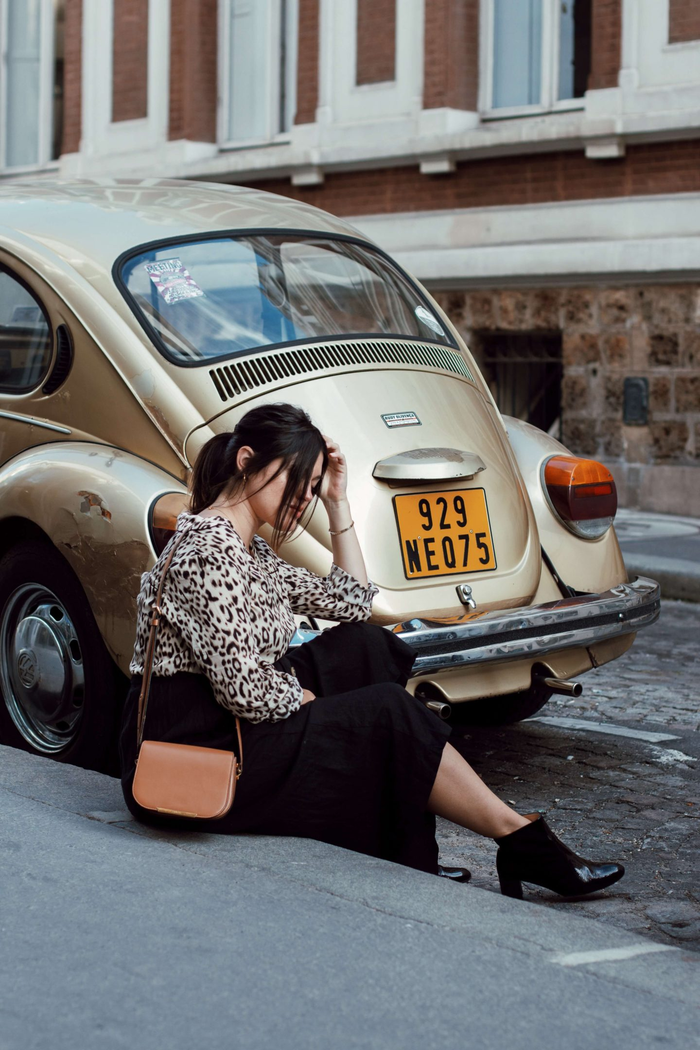 Look léopard femme enceinte grossesse L'atelier d'al blog mode lifestyle streetstyle Paris
