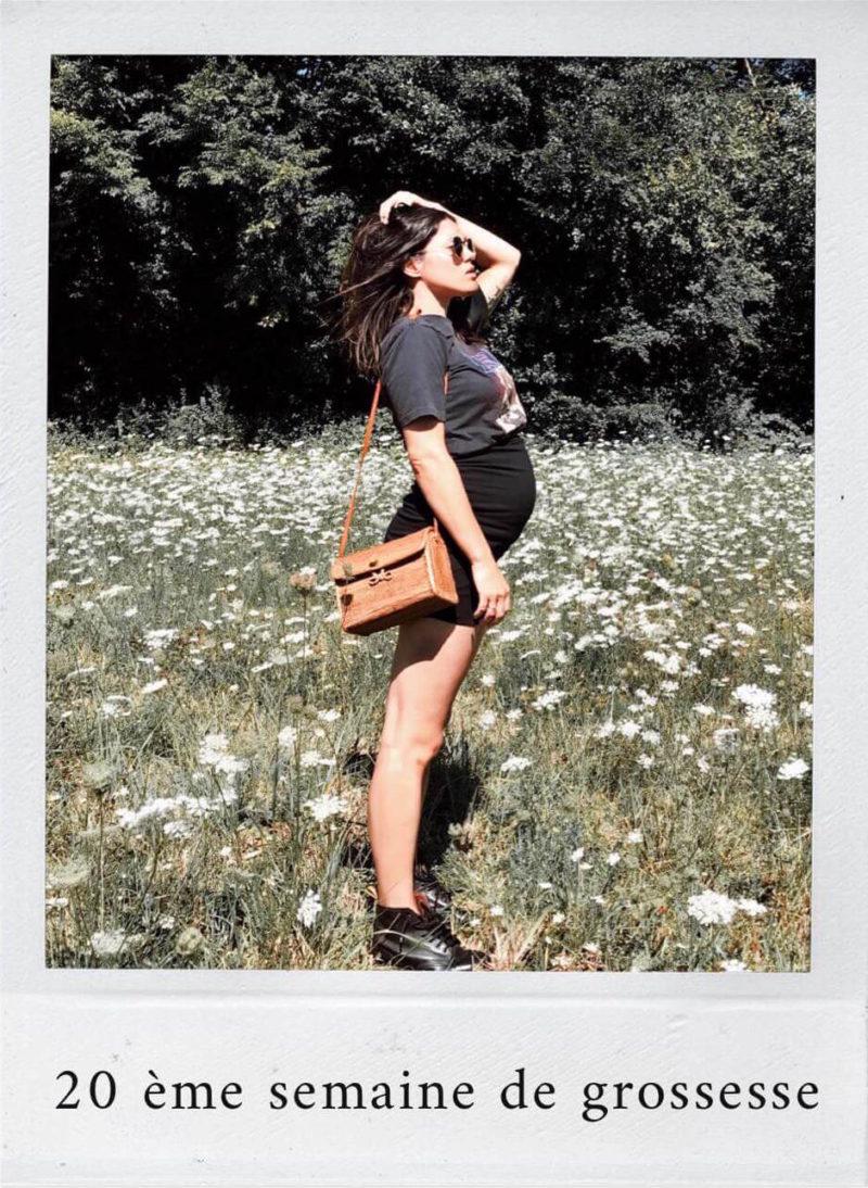 Grossesse second trimestre semaines après semaines échographies L'atelier d'al Anne-Laure blog lifestyle Paris
