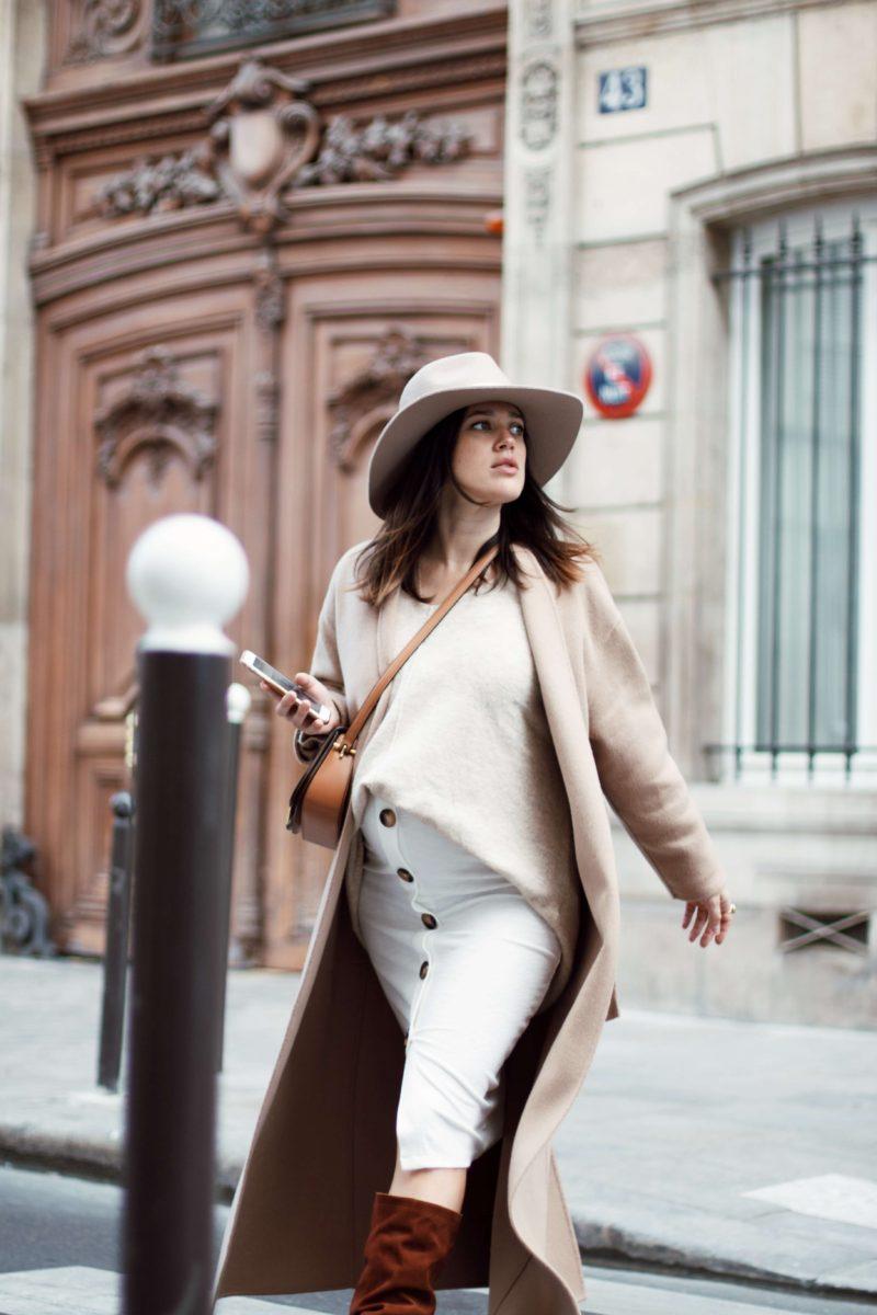 Look de grossesse automne Anne-laure L'atelier d'al blog mode fashion lifestyle Paris