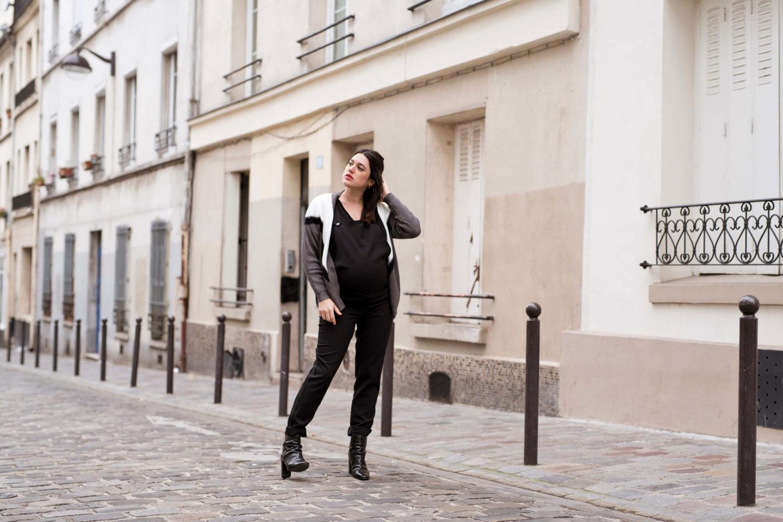 look de grossesse maternité Showroomprivé L'atelier d'al blog mode lifestyle Paris