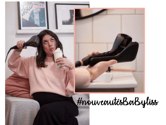 BaByliss Test du Smooth and Wave Curl Secret L'atelier d'al blog mode lifestyle Paris