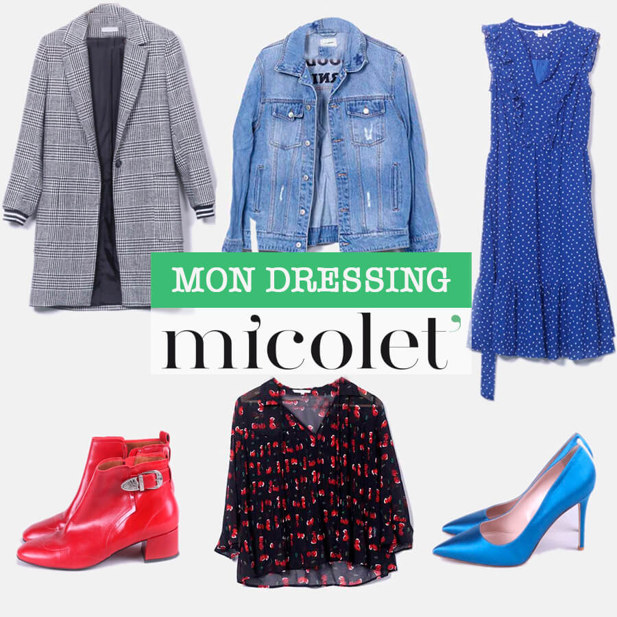 Vide dressing L'atelier d'al blog mode Paris Micolet