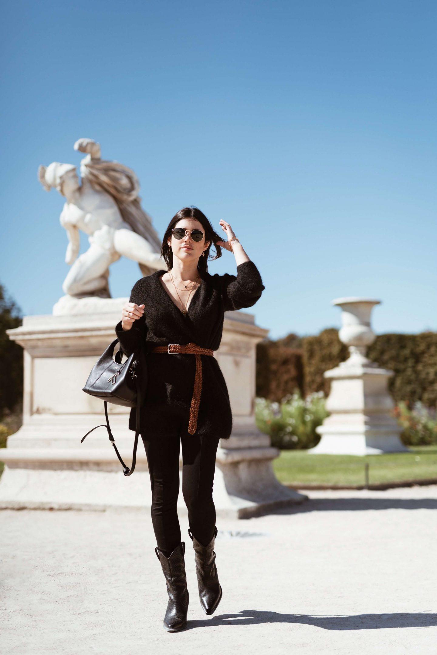 3 ways to wear Trois façons de porter les santiags L'atelier d'al latelierdal blog mode fashion lifestyle