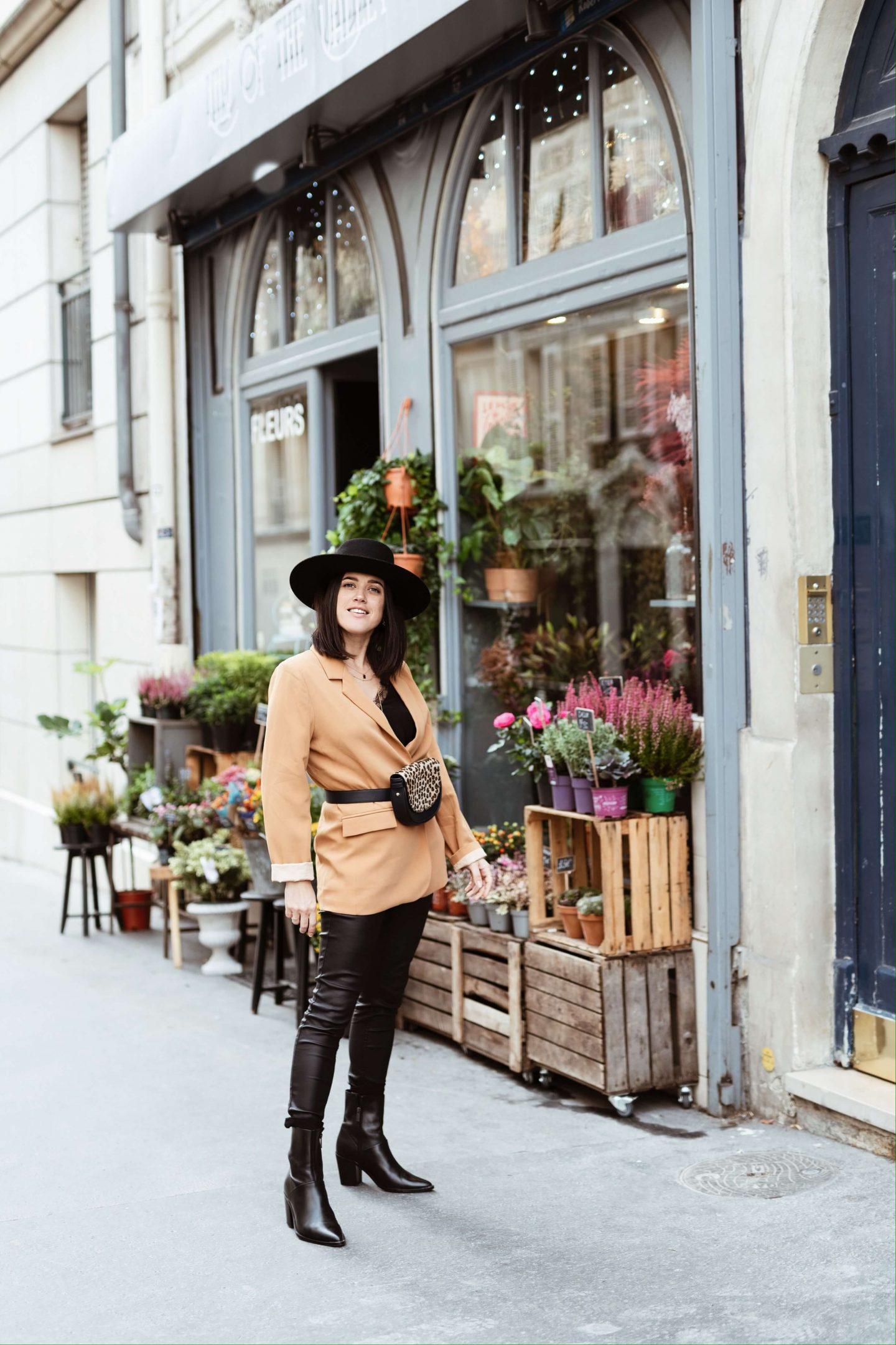3 ways to wear Trois façons de porter le sac banane L'atelier d'al latelierdal blog mode fashion lifestyle