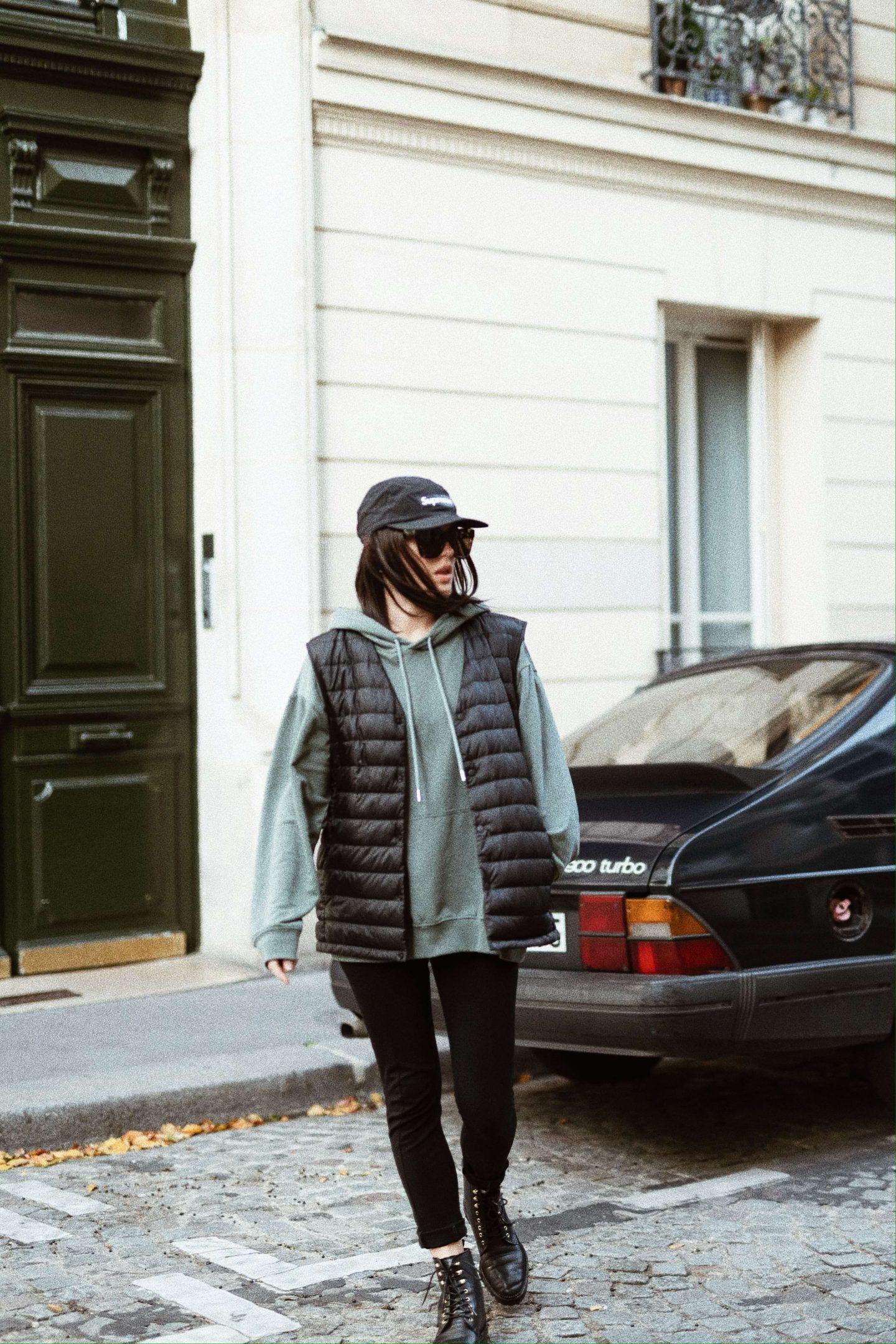 3 ways to wear Trois façons de porter le sweat à capuche hoodie L'atelier d'al latelierdal blog mode fashion lifestyle